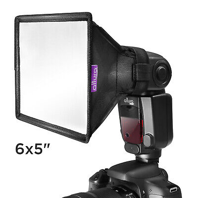 """Flash Diffuser Light Softbox 6x5"""" by Altura Photo for Canon, Yongnuo and Nikon"""