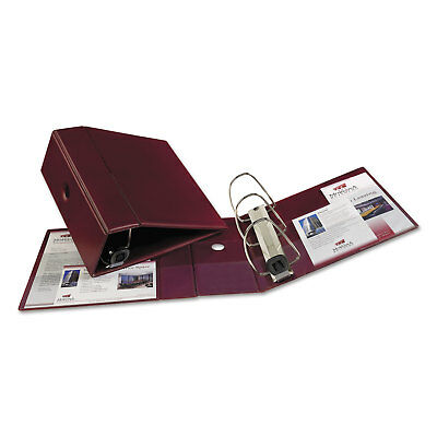 Avery Heavy-duty Binder With One Touch Ezd Rings 11 X 8 12 5 Capacity Maroon