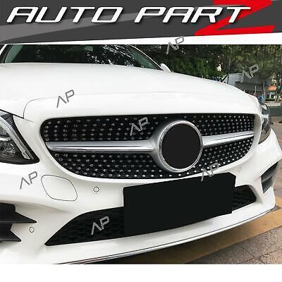 Diamant Kühlergrill Front Grill für Mercedes Benz E W213 S213 A238 C238 E43 AMG