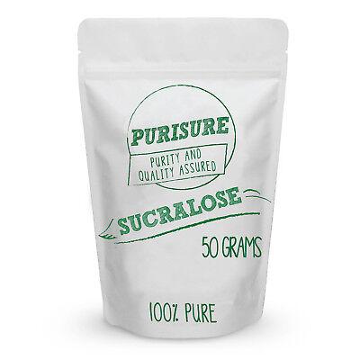 Sucralose Sweetener (Purisure Sweetener 100% Sucralose Pure Powder 0 Calorie Diabetic Safe)