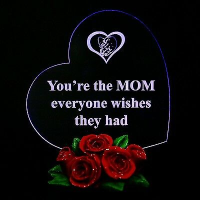 Mothers Day Gift Heart For Mom  You Re The Mom Everyone Wishes They Had  For Her