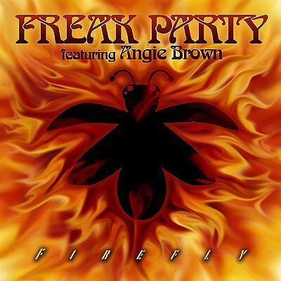 "FREAK PARTY Feat. Angie Brown 'FIREFLY' 7"" VINYL (2016)"