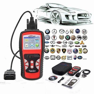 Automotive OBDII Code Reader/ Erase Scanner Car Check Engine Light I/M Readiness