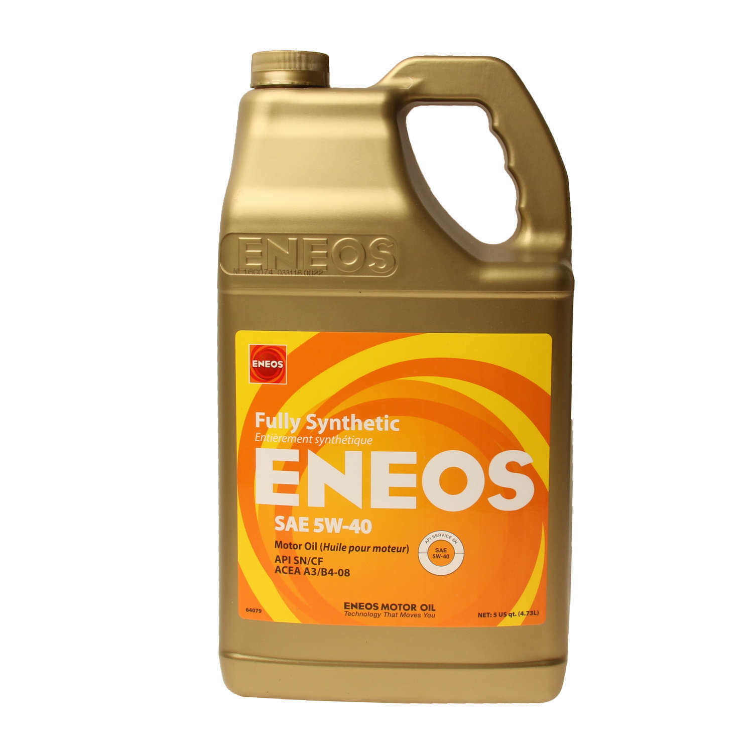 eneos 5w 40 european formula fully synthetic engine motor. Black Bedroom Furniture Sets. Home Design Ideas