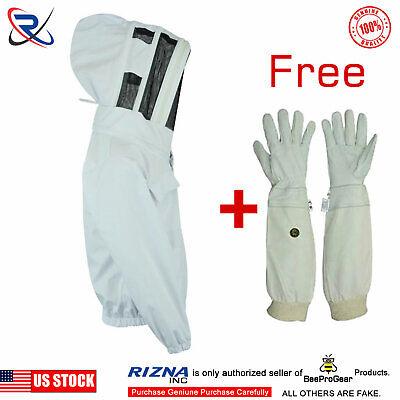 Cotton Bee Beekeeper Beekeeping Jacket Suit Protective Astronaut Veils-bs45