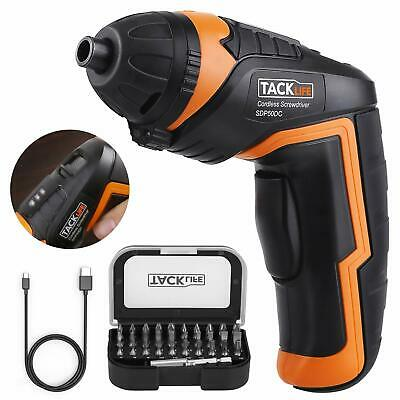 Cordless Screwdriver Tacklife Sdp50dc Electric Rechargeable Screwdriver 3.6v 20