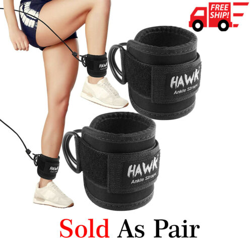Ankle Straps for Legs,Glutes,Abs , Hip Workout Fit Women & Men Fully Adjustable