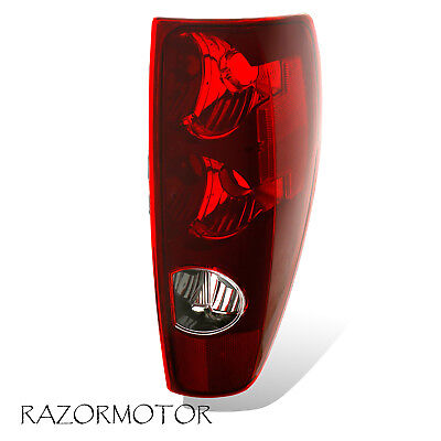 2004-2012 Passenger Replacement Tail light Brake Lamp For Chevy Colorado Canyon 2007 Chevrolet Colorado Replacement