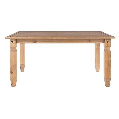 Corona 4 Seater Medium 5ft  Dining Table in Solid Pine Wood