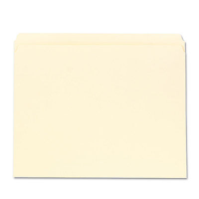 Universal File Folders Straight Cut One-ply Top Tab Letter Manila 100box 12110