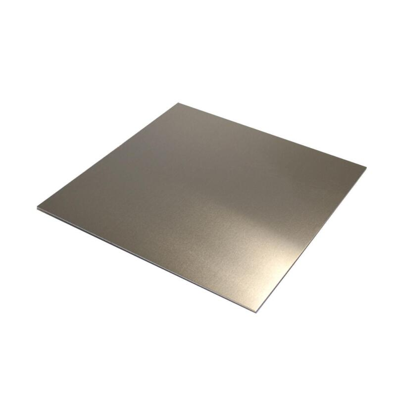 Brushed Aluminum 4 X 8 Aluminum Sheet