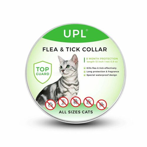 UPL TopGuard Flea & Tick Collar 8 Month Protection All Sizes Cats