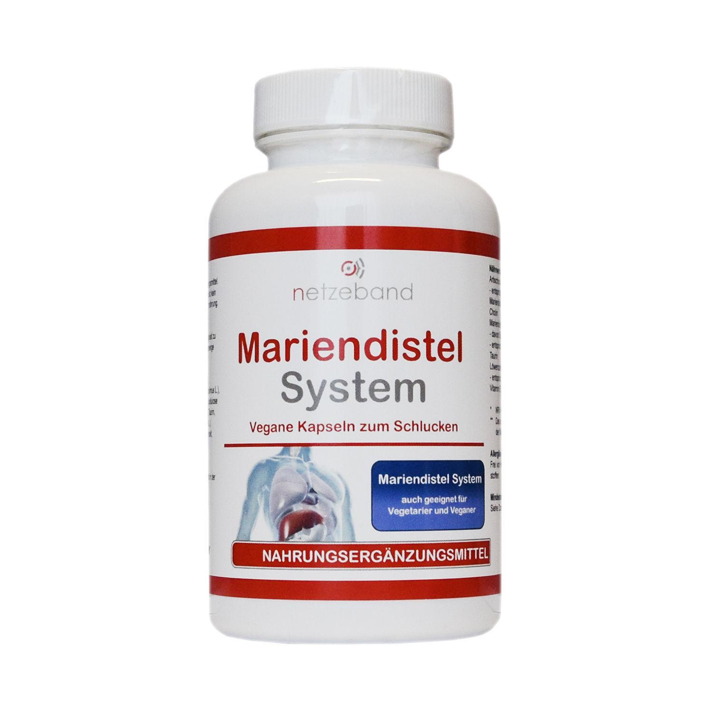 Netzeband Mariendistel System - Leber Entgiftung Silymarin Artischocke Löwenzahn