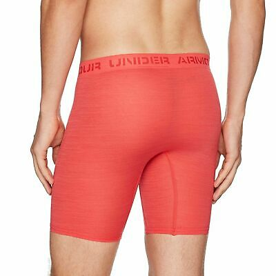 "Mens Under Armour ArmourVent Mesh Series 9"" Boxerjock Fitted Boxer Brief SZ L-XL"
