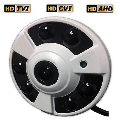 Sikker Fisheye fish eye wide angle 1080P 2 Megapixel CCTV