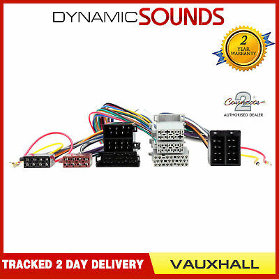 CT10VX02 Bluetooth SOT T-Harness 36-Way ISO Adaptor Loom Lead For Vauxhall