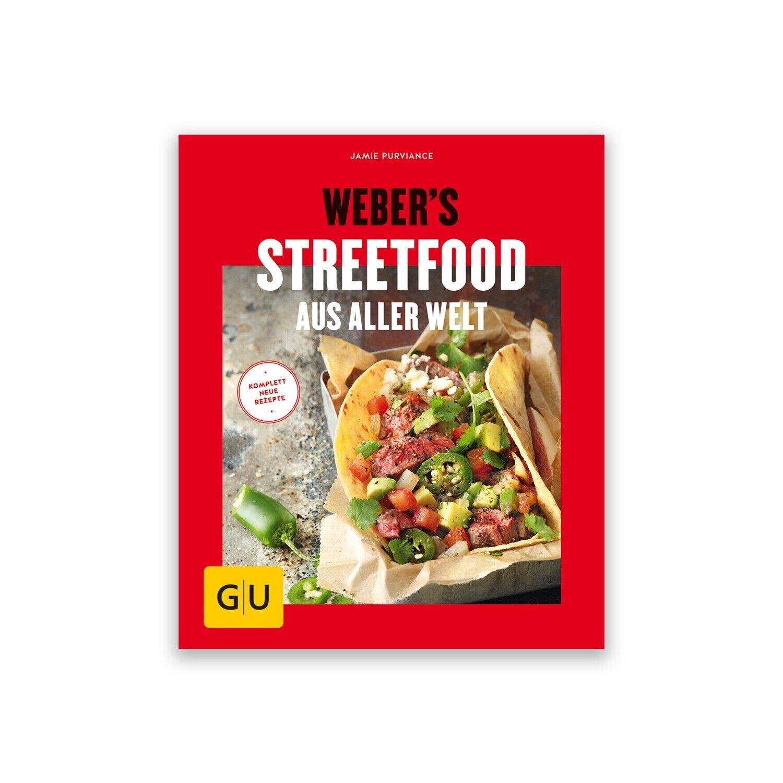 Grillbuch: Weber's Streetfood von Jamie Purviance, ca. 80 Farbfotos | Kochbuch