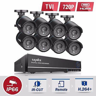 8CH 1080N 2000TVL CCTV DVR  Kamera SET Sicherheitssystem Video überwachung KIT