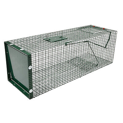 Moorland Stable Wire Cage Animal Trap 5002 Humane Live Trapping 90 x 30 x 30 cm