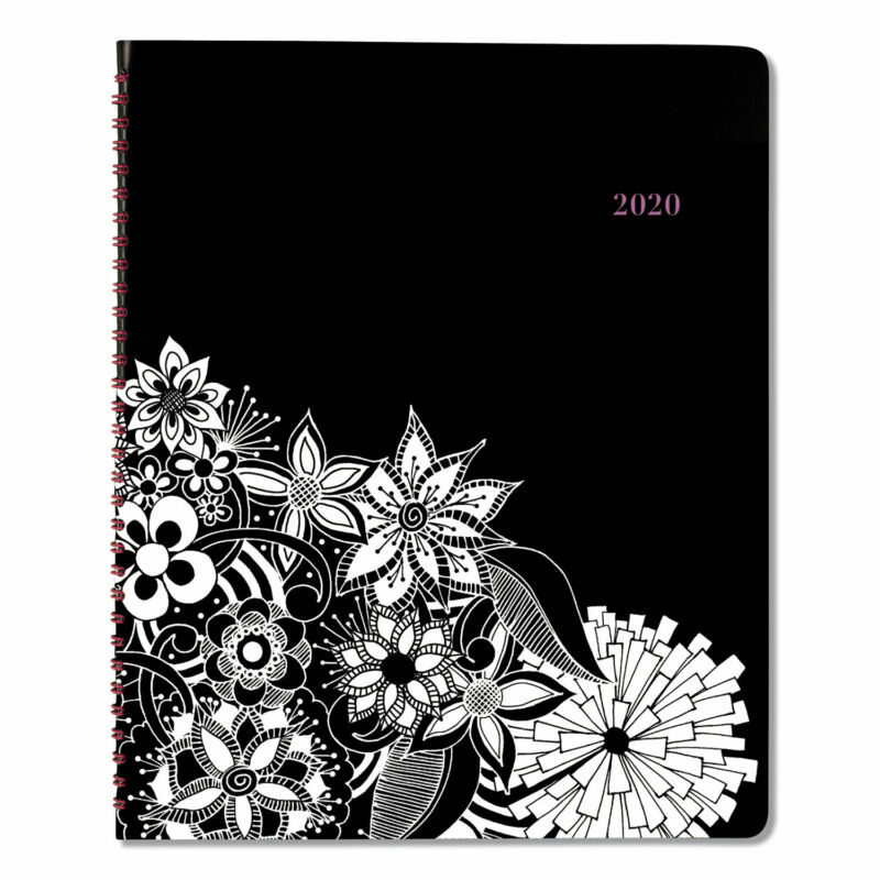 At-a-Glance Floradoodle Professional Weekly/Monthly Planner 11 x 8 1/2 2020-2021