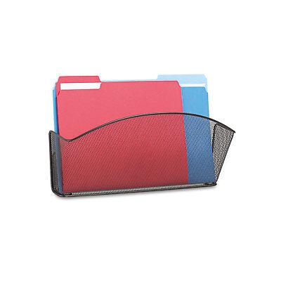 Safco Onyx Steel Wall Pocket Legal Black 15 X 3 X 9 5653bl