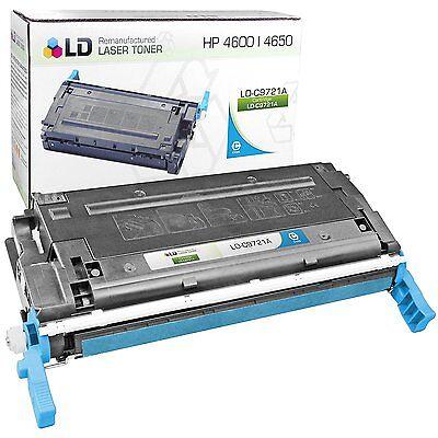 LD C9721A 641A Cyan Laser Toner Cartridge for HP Printer - Hp C9721a Cyan Laser
