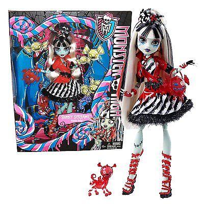 Monster High Exclusive Sweet Screams Frankie Stein Doll New in Box! HTF  BHN02