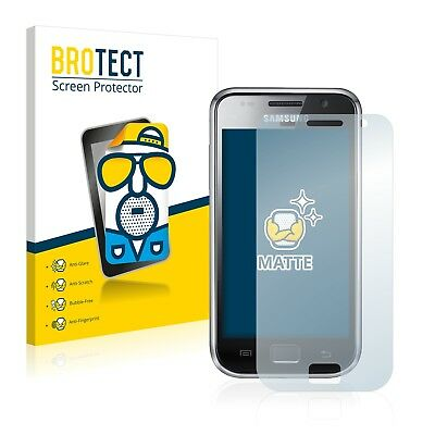 2x BROTECT Matte Screen Protector for Samsung GT-i9000 Protection Film I9000 Screen Protector