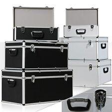 Masko® 3er SET Alu Boxen Alubox Alukiste Transportbox Werkzeugkiste Lagerbox NEU