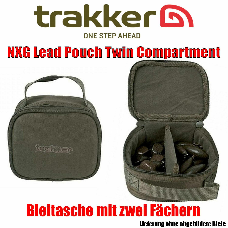 Trakker nxg Lead Pouch Twin Compartment Karpfentasche Angeltasche Karpfenangeln
