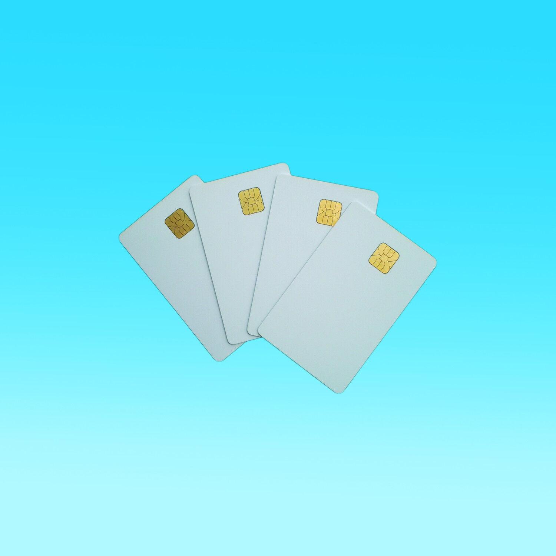 Contact Smart Card AT24C64 IC Blank 64K PVC - 10pcs