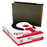 25 Pack Letter Size Hanging File Folders 1/5 Tab Office Impressions FRE SHIPPING