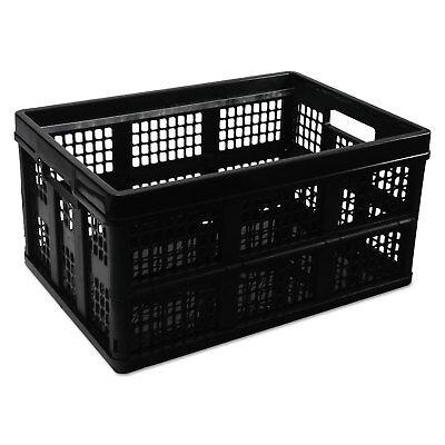 Universal Filingstorage Tote Storage Box Plastic 20-18 X 14-58 X 10-34 Black