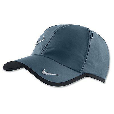 3d45b9d3 Minight Turquoise NIKE Rafa Nada Bull Adult DRI-FIT FEATHERLIGHT Tennis Hat