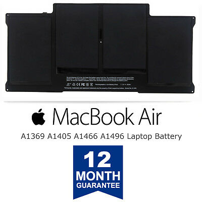New A1405 Battery for Apple Macbook Air 13