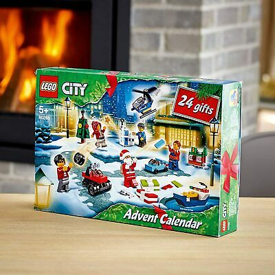 LEGO City Advent Calendar 2020 Christmas Surprises Each Day Building Set 60268