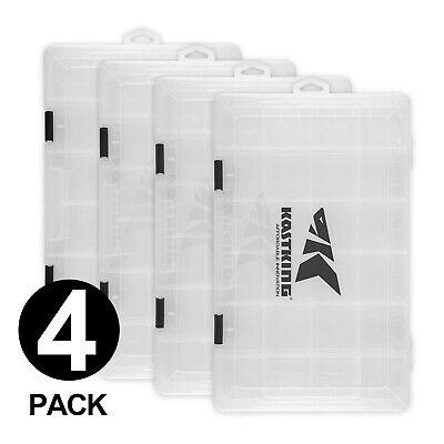 KastKing Tackle Box 2/4 Packs Utility Tray Plastic 3600 & 3700 Tackle Storage