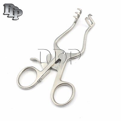 Weitlaner Retractor 4 Sharp 2x3 Surgical Veterinary Instruments