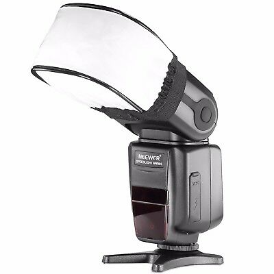 UK Neewer Universal Speedlite Flash Bounce Diffuser Softbox Cap for Canon Nikon