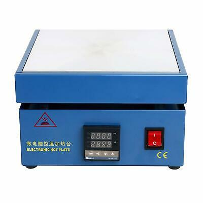 Microcomputer Electric Hot Plate Preheat Soldering Station Lab 800w 110v 946c