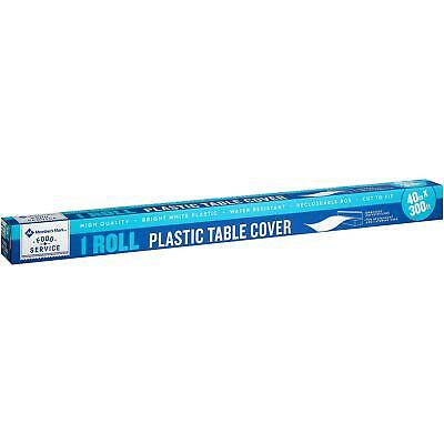 Plastic Table Covers Roll (Member's Mark Plastic Table Cover Roll (40
