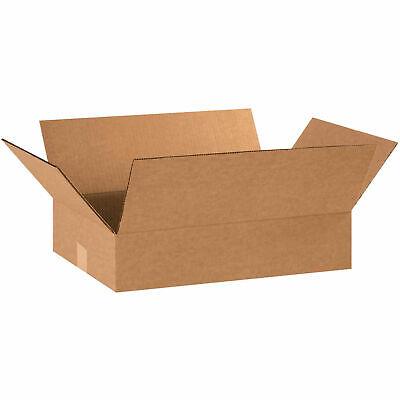 20 X 12 X 4 Flat Cardboard Corrugated Boxes 65 Lbs Capacity 200ect-32