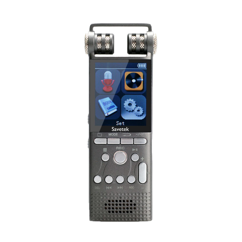 Professional 16GB Digital Voice Activated Recorder PCM REC N