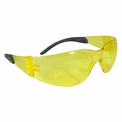 3 Pairs Radians Safety Glasses Anti-fog Uv Amber Yellow Clear Tint Lens
