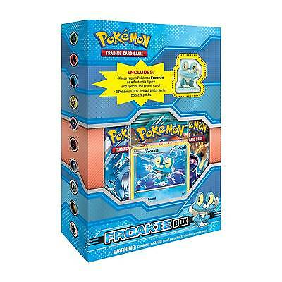 FROAKIE X&Y Figure Collection Box Pokemon TCG Cards Sealed Black & White Packs