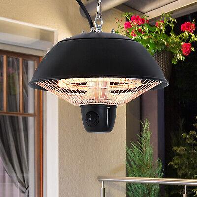 Patio Ceiling Electric Heater Outdoor Mounted Heating Halogen Gazebo Garden Bbq