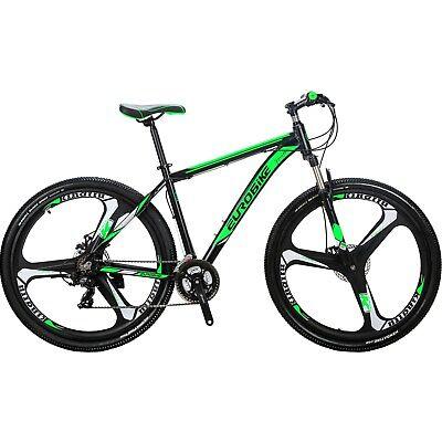 "X9 Mountain Bike 21 Speed Lightweight Aluminum Mens Bikes 29"" Bicycle 29er MTB"