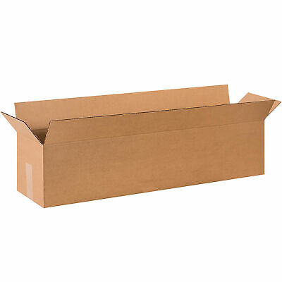 36 X 8 X 8 Long Cardboard Corrugated Boxes 65 Lbs Capacity 200ect-32 Lot
