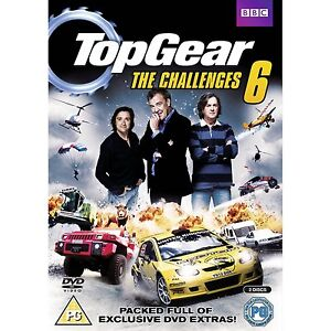 Top Gear - The Challenges 6 - DVD - BRAND NEW SEALED