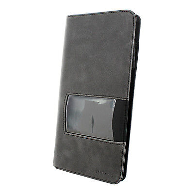 Rolodex Identity Business Card Book 96 Card Capacity Blackgray - Rol1752535